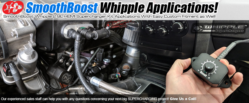 SmoothBoost Whipple Supercharger Boost Controller